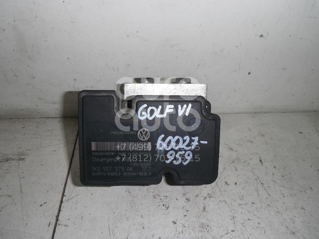 Блок ABS (насос) для VW,Audi,Skoda,Seat Golf VI 2009-2012;A3 [8PA] Sportback 2004-2013;Golf V Plus 2005-2014;Golf V 2003-2009;Jetta 2006-2011;Octavia (A5 1Z-) 2004-2013;Leon (1P1) 2005-2013;Superb 2008-2015;Yeti 2009>;Jetta 2011> - Фото №1
