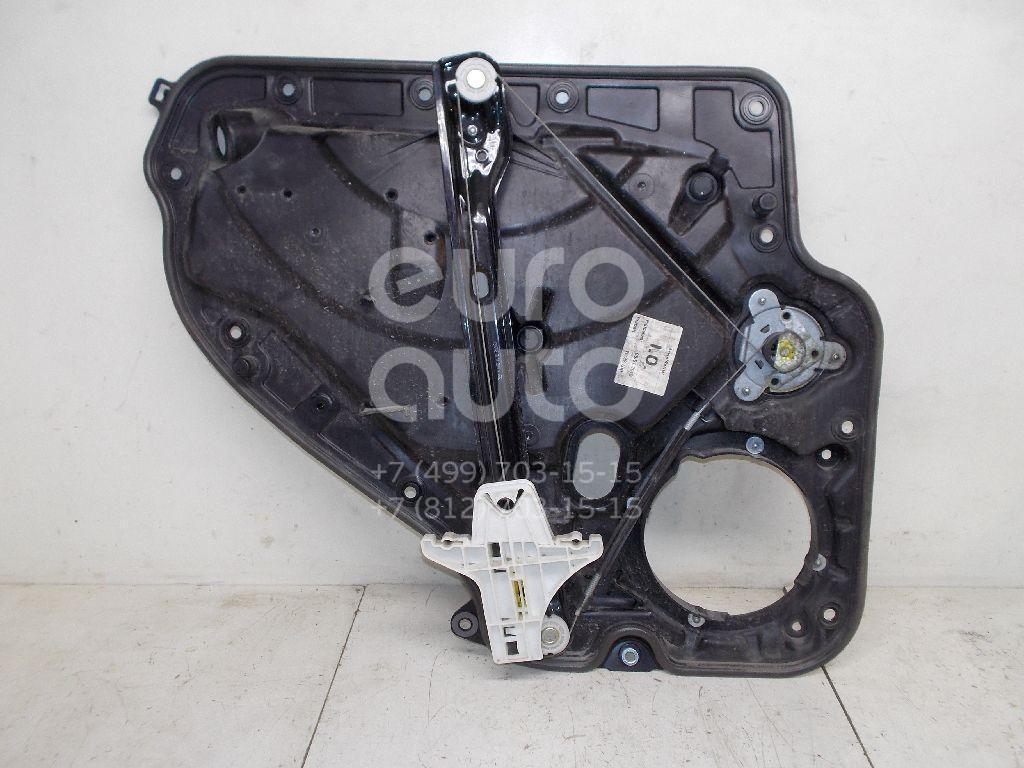 Стеклоподъемник механ. задний правый для VW Golf VI 2009-2013 - Фото №1