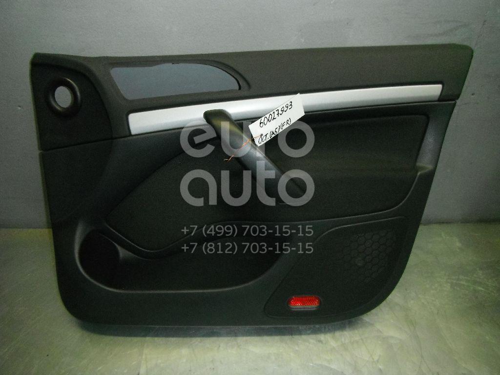 Обшивка двери передней правой для Skoda Octavia (A5 1Z-) 2004-2013 - Фото №1