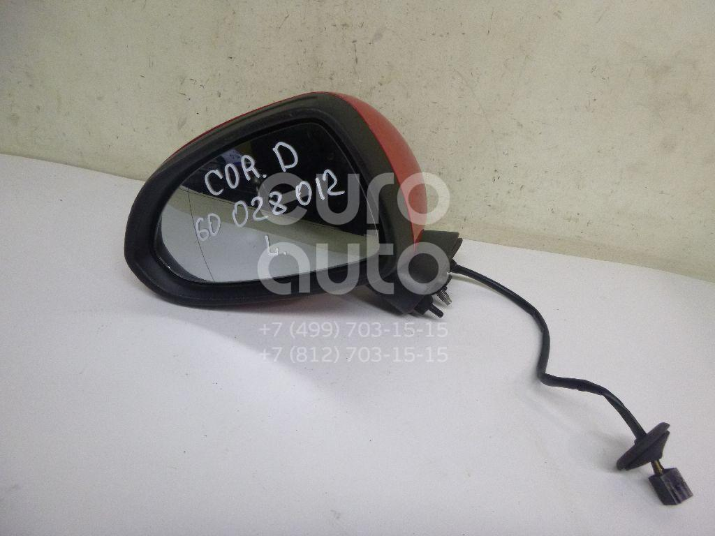 Зеркало левое электрическое для Opel Corsa D 2006-2015 - Фото №1