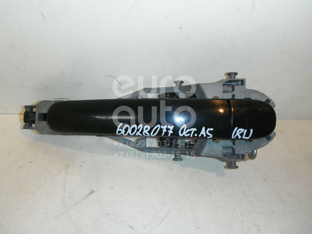 Ручка двери задней наружная левая для Skoda Octavia (A5 1Z-) 2004-2013 - Фото №1