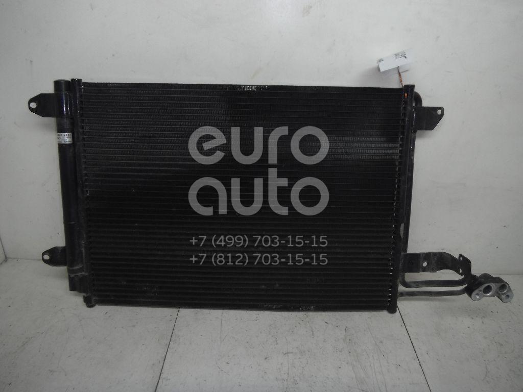 Радиатор кондиционера (конденсер) для Skoda,VW,Audi,Seat Octavia (A5 1Z-) 2004-2013;Golf V Plus 2005-2014;Golf V 2003-2009;A3 [8P1] 2003-2013;Jetta 2006-2011;Leon (1P1) 2005-2013;Altea 2004-2015;Toledo III 2004-2009;Superb 2008-2015;TT(8J) 2006-2015;Scirocco 2008> - Фото №1