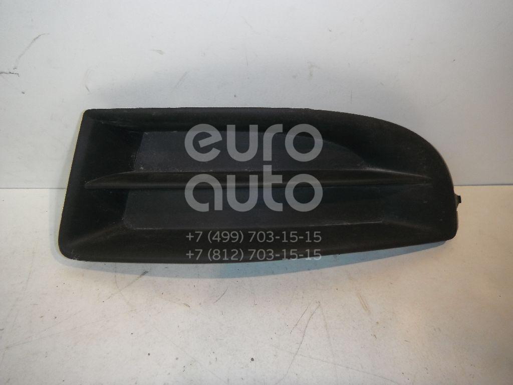 Решетка в бампер левая для Skoda Octavia (A5 1Z-) 2004-2013 - Фото №1