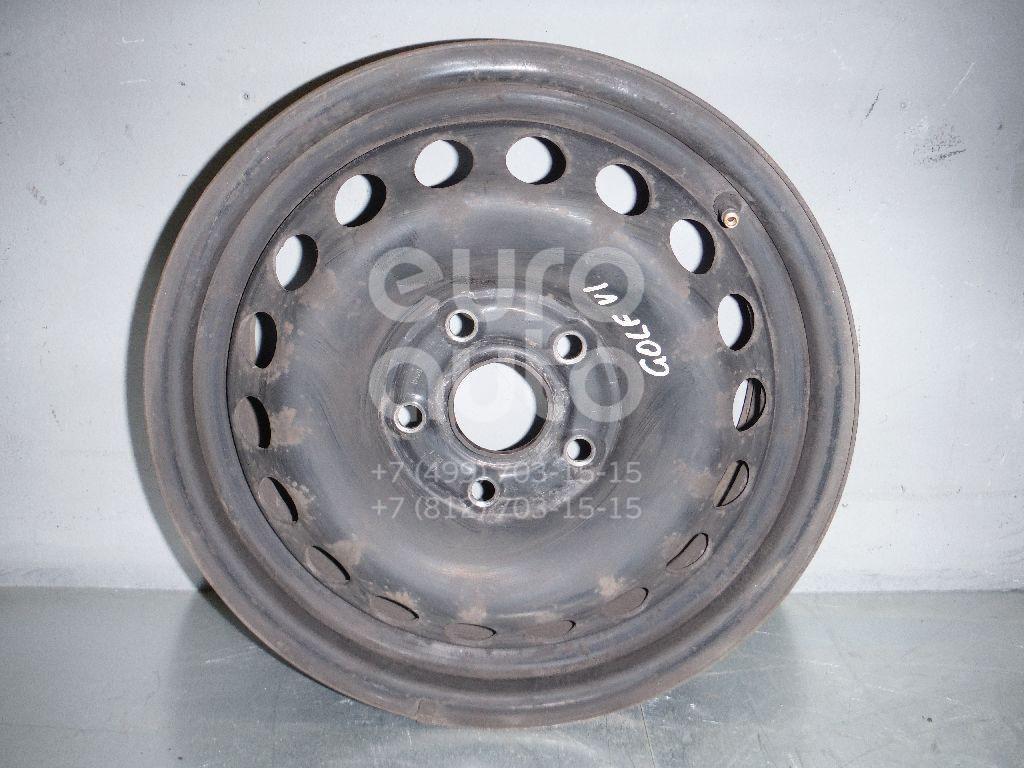 Диск колесный железо для VW,Skoda,Seat Golf VI 2009-2012;Golf V 2003-2009;Octavia (A5 1Z-) 2004-2013;Leon (1P1) 2005-2013;Toledo III 2004-2009 - Фото №1