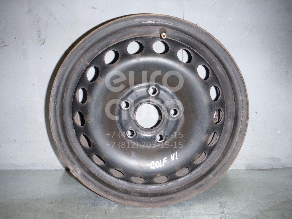 Диск колесный железо для VW Golf VI 2009-2012;Golf V 2003-2009;Octavia (A5 1Z-) 2004-2013;Leon (1P1) 2005-2013;Toledo III 2004-2009 - Фото №1