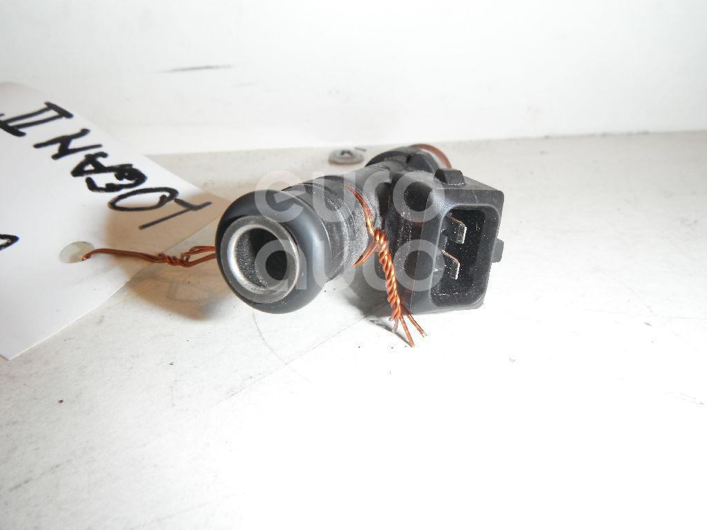 Форсунка инжекторная электрическая для Renault,VAZ Logan II 2014>;Logan 2005-2014;Sandero 2009-2014;Lada Largus 2011>;Kangoo 2008>;Sandero 2014> - Фото №1