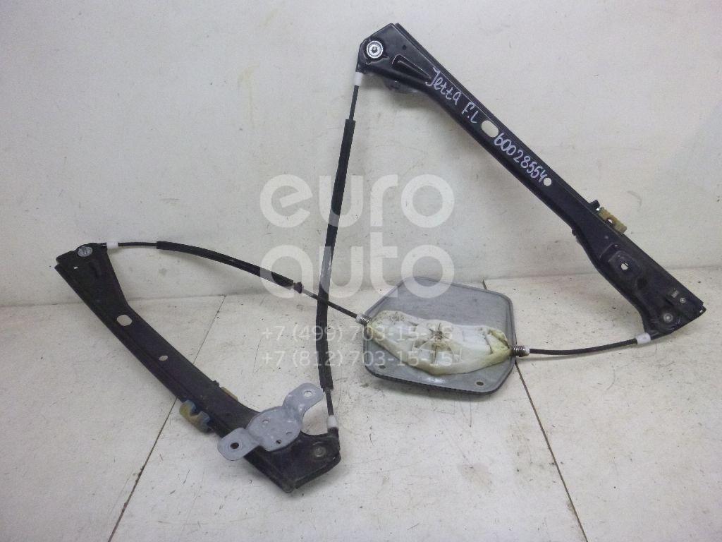 Стеклоподъемник электр. передний левый для VW Jetta 2006-2011;Golf V Plus 2005-2014 - Фото №1