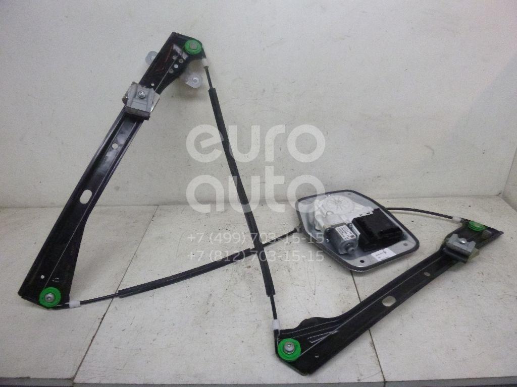 Стеклоподъемник электр. передний левый для VW Jetta 2006-2011;Golf Plus 2005-2014 - Фото №1