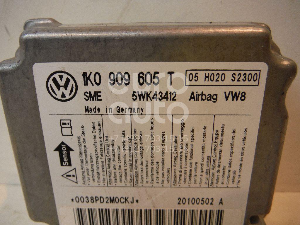 Блок управления AIR BAG для VW,Skoda,Seat Jetta 2006-2011;Golf V Plus 2005-2014;Golf V 2003-2009;Octavia (A5 1Z-) 2004-2013;Altea 2004-2015;Toledo III 2004-2009 - Фото №1