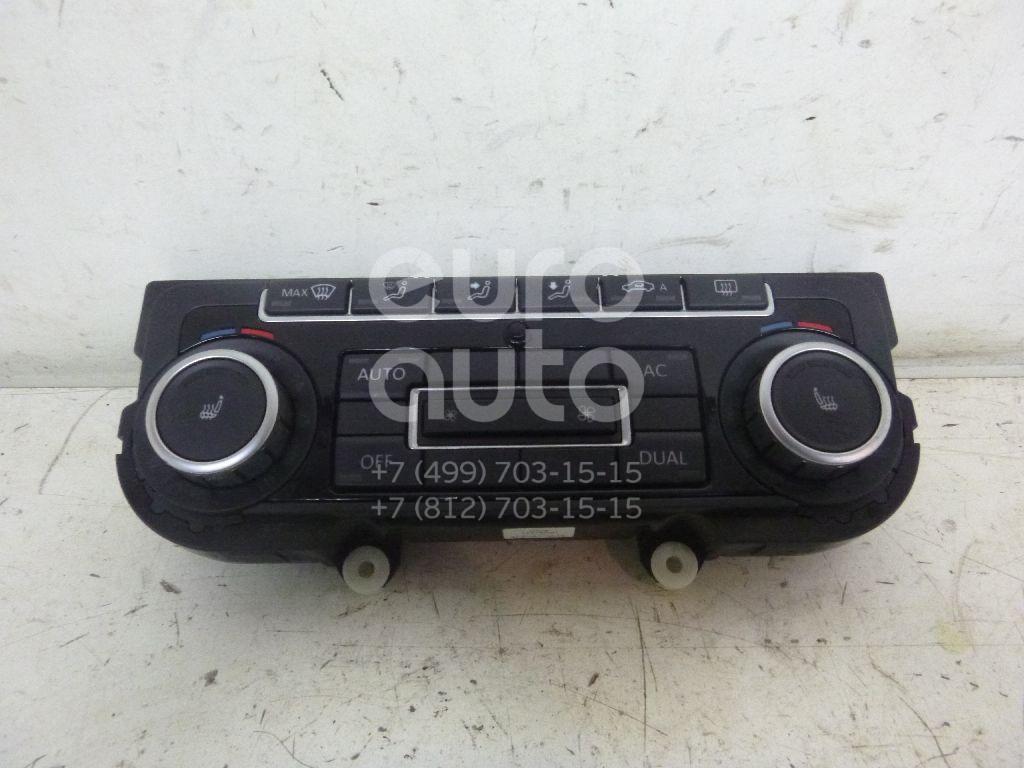 Блок управления климатической установкой для VW Jetta 2006-2011;Golf V Plus 2005-2014;Passat [B6] 2005-2010;Tiguan 2007-2011;Passat CC 2008>;EOS 2006-2015;Golf VI 2009-2012;Scirocco 2008>;Golf VII 2012> - Фото №1