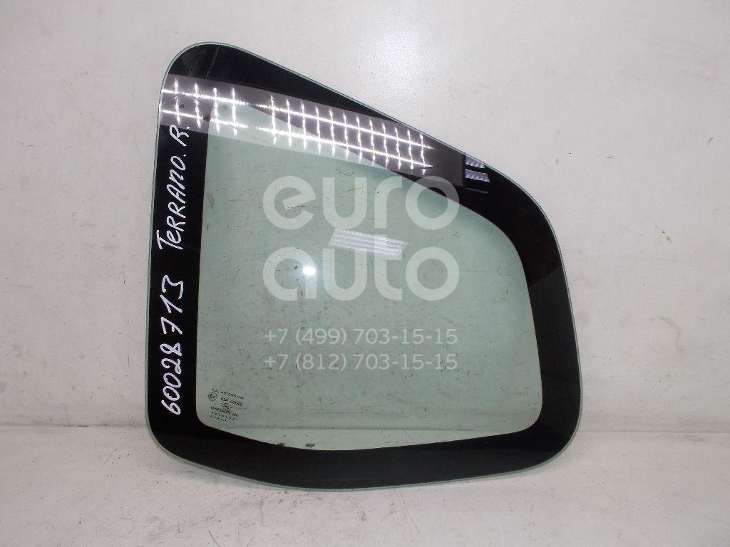 Стекло кузовное глухое правое для Nissan Terrano III (D10) 2014> - Фото №1