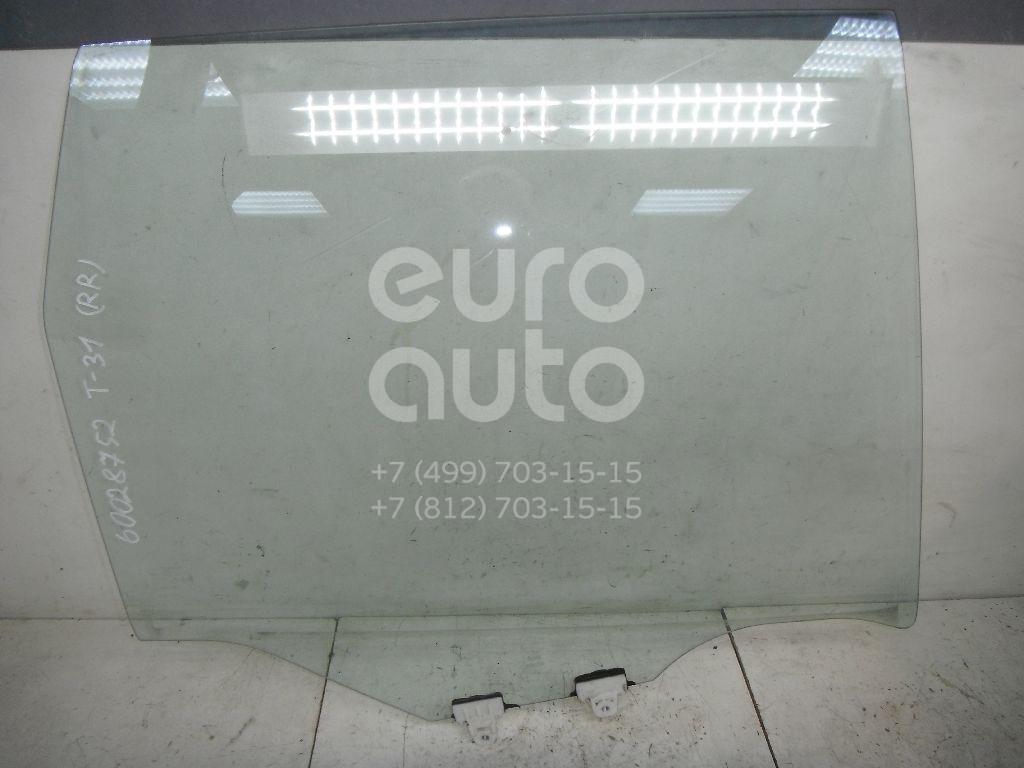 Стекло двери задней правой для Nissan X-Trail (T31) 2007-2014 - Фото №1