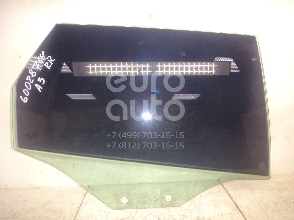 Стекло двери задней правой для Audi A3 [8PA] Sportback 2004-2013 - Фото №1