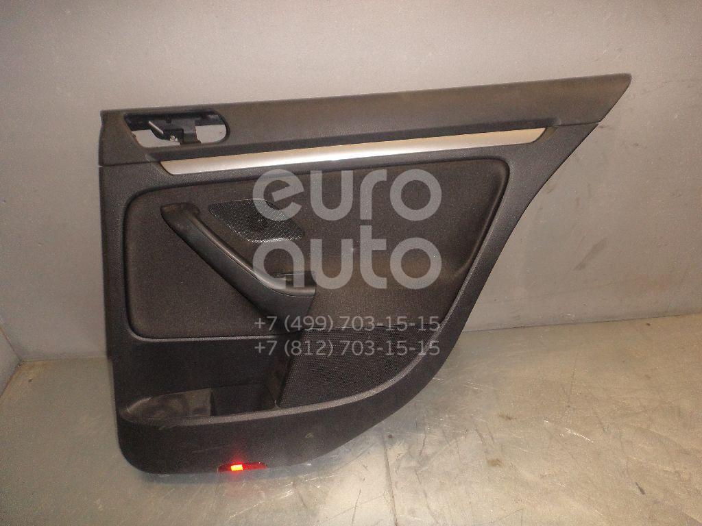 Обшивка двери задней правой для VW Jetta 2006-2011 - Фото №1