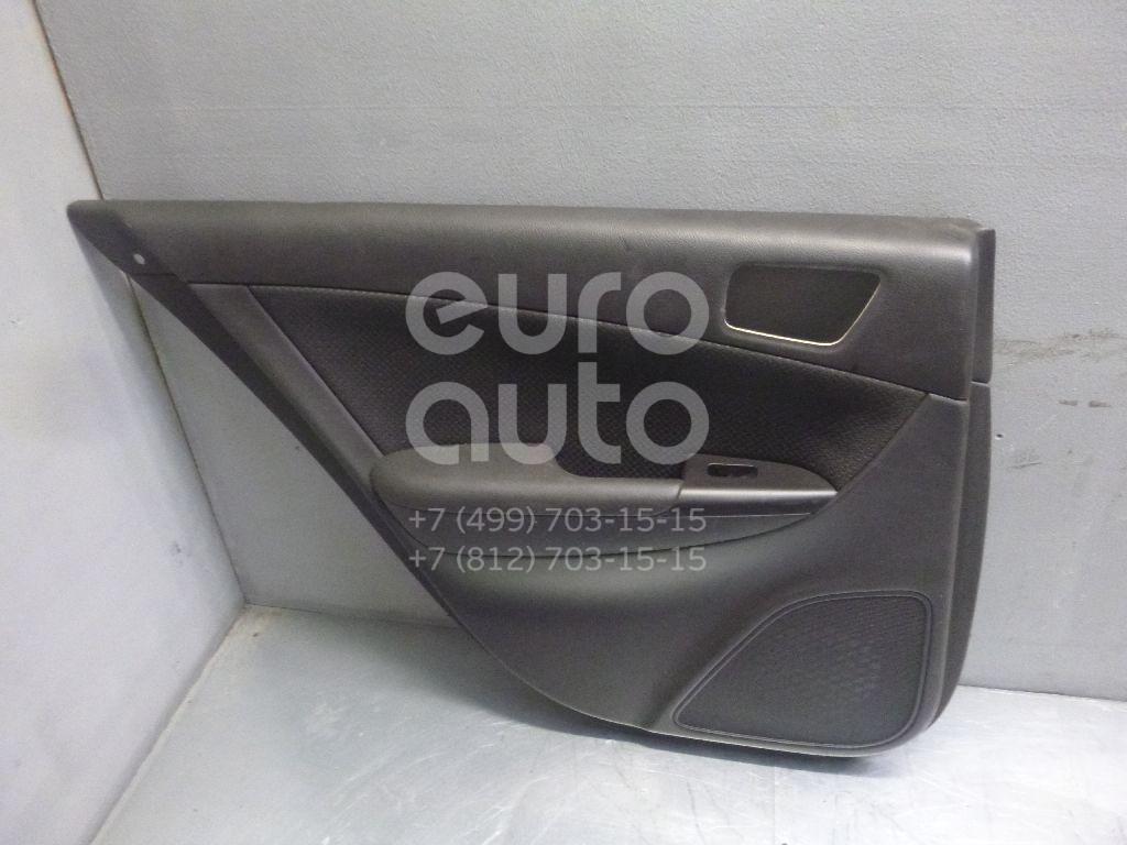 Обшивка двери задней левой для Hyundai Sonata V (NF) 2005-2010 - Фото №1