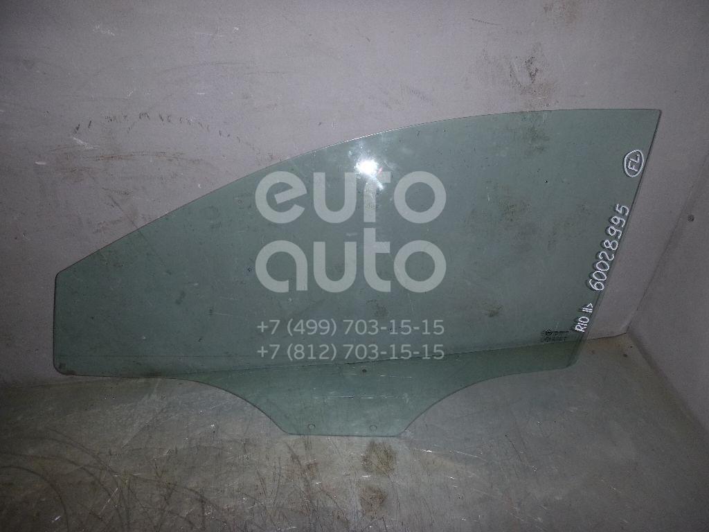 Стекло двери передней левой для Kia,Hyundai RIO 2011>;Solaris/Accent IV 2010> - Фото №1