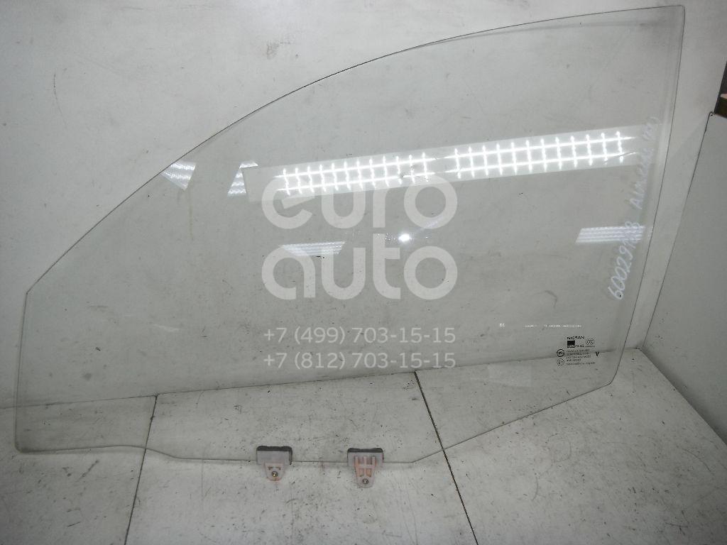 Стекло двери передней левой для Nissan Almera Classic (B10) 2006> - Фото №1