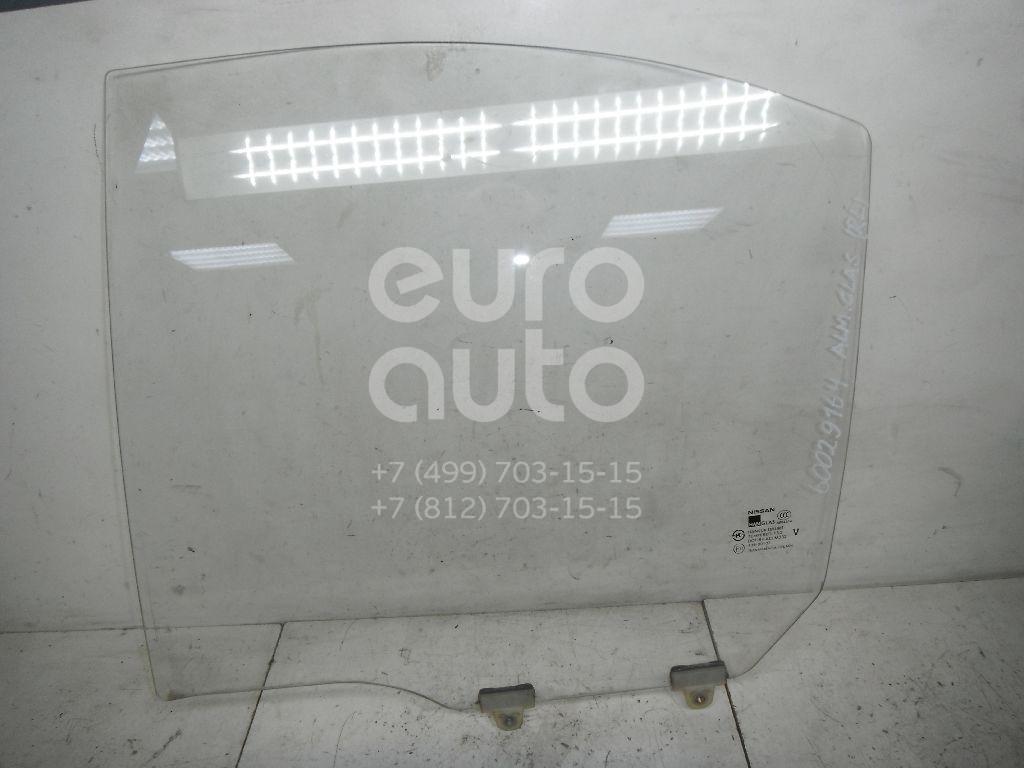 Стекло двери задней левой для Nissan Almera Classic (B10) 2006-2013 - Фото №1