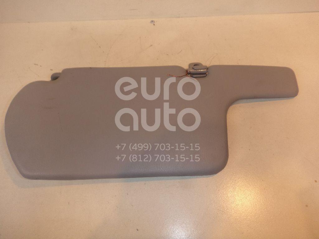 Козырек солнцезащитный (внутри) для Nissan Almera Classic (B10) 2006-2013 - Фото №1