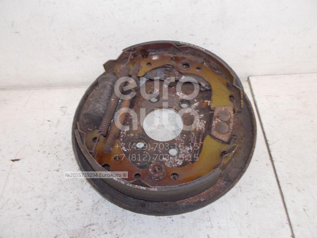 Щит опорный задний левый для Nissan Almera Classic (B10) 2006-2013 - Фото №1