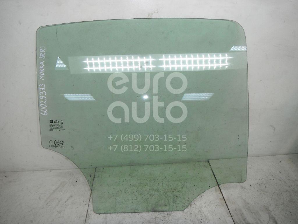 Стекло двери задней правой для Opel Mokka 2012> - Фото №1