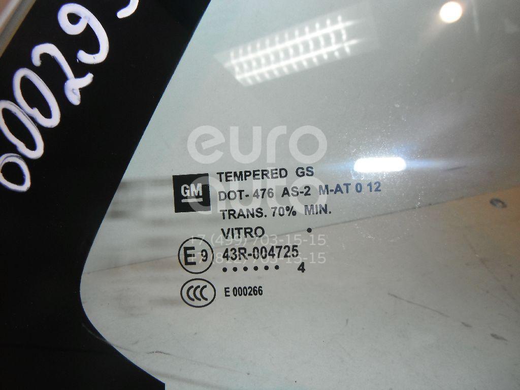Стекло двери задней правой (форточка) для Opel Mokka 2012> - Фото №1