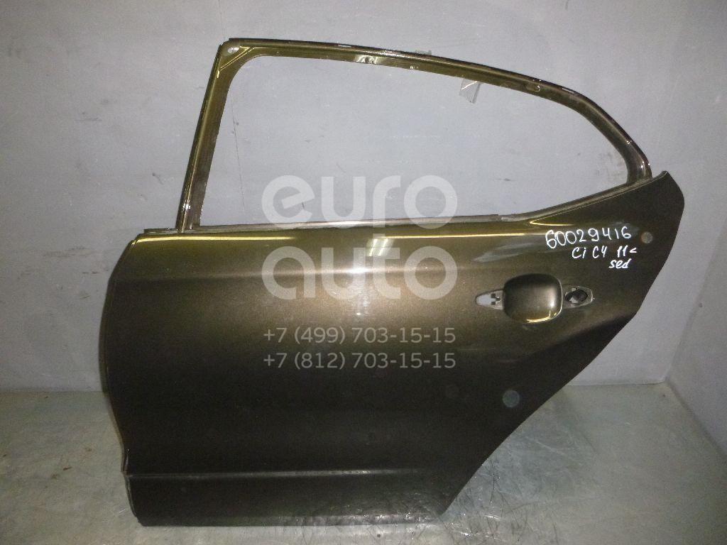 Дверь задняя левая для Citroen C4 II 2011> - Фото №1