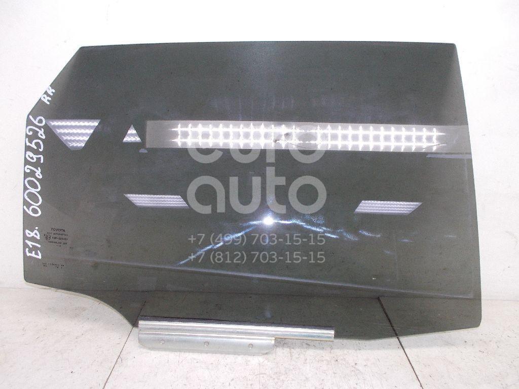 Стекло двери задней правой для Toyota Auris E18 2012> - Фото №1