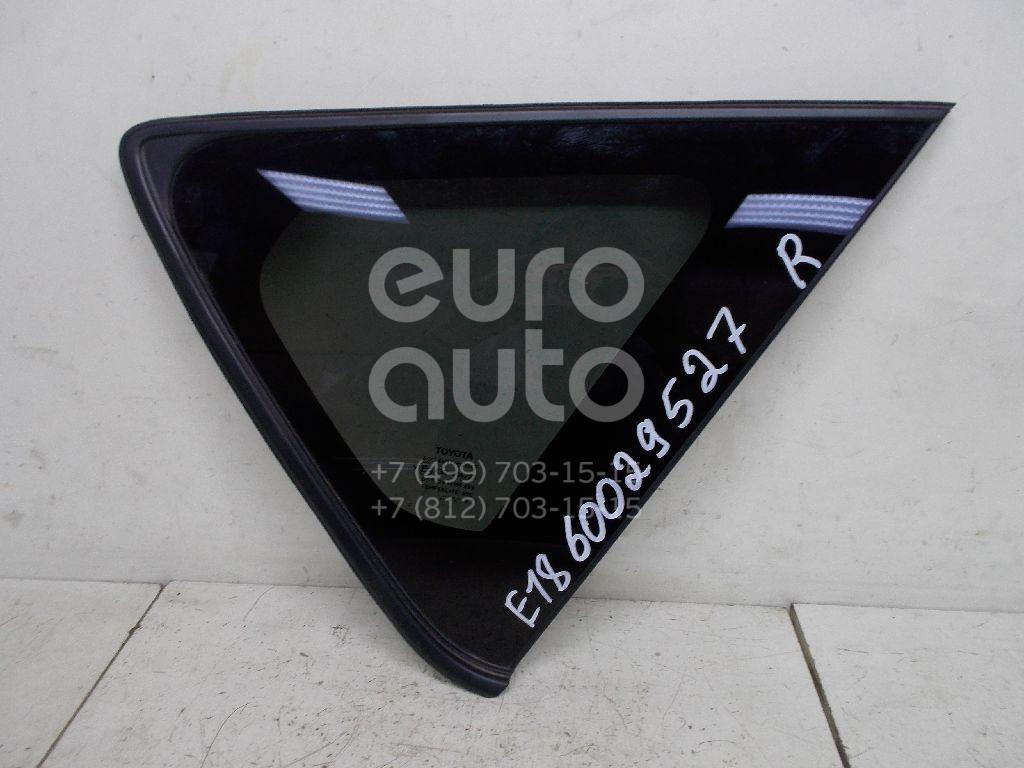 Стекло кузовное глухое правое для Toyota Auris E18 2012> - Фото №1
