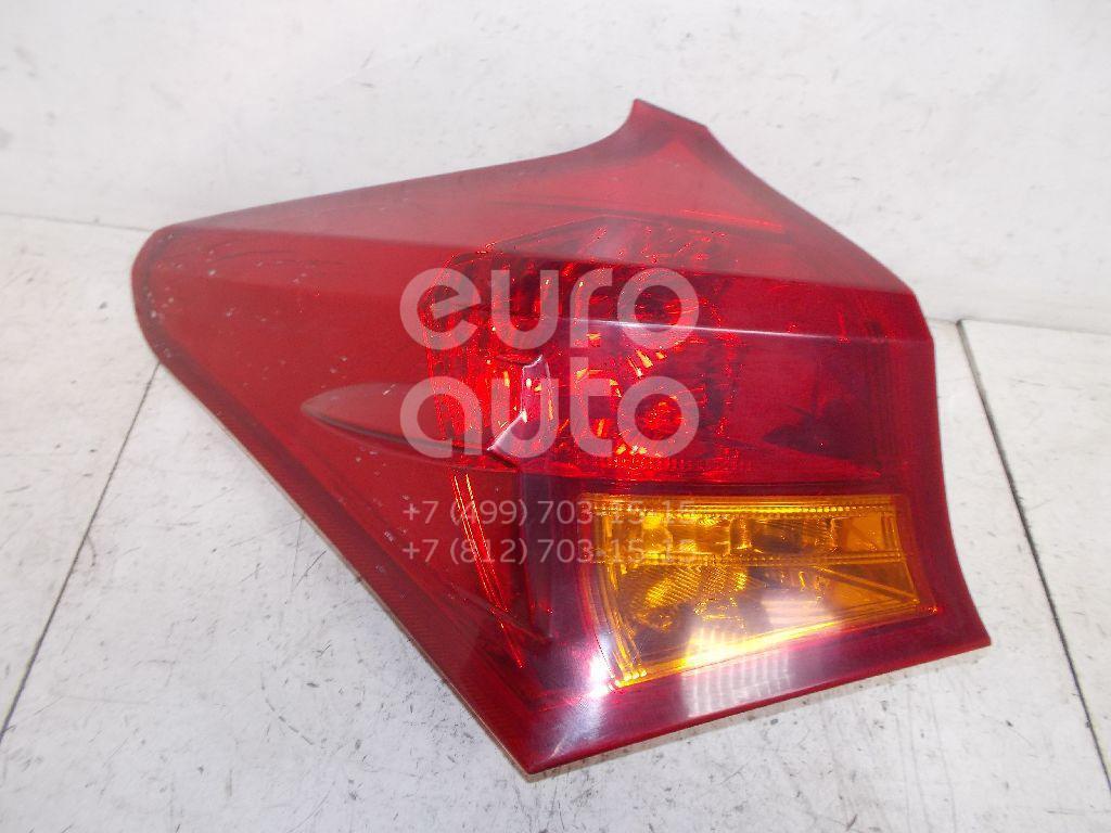 Фонарь задний наружный левый для Toyota Auris E18 2012> - Фото №1
