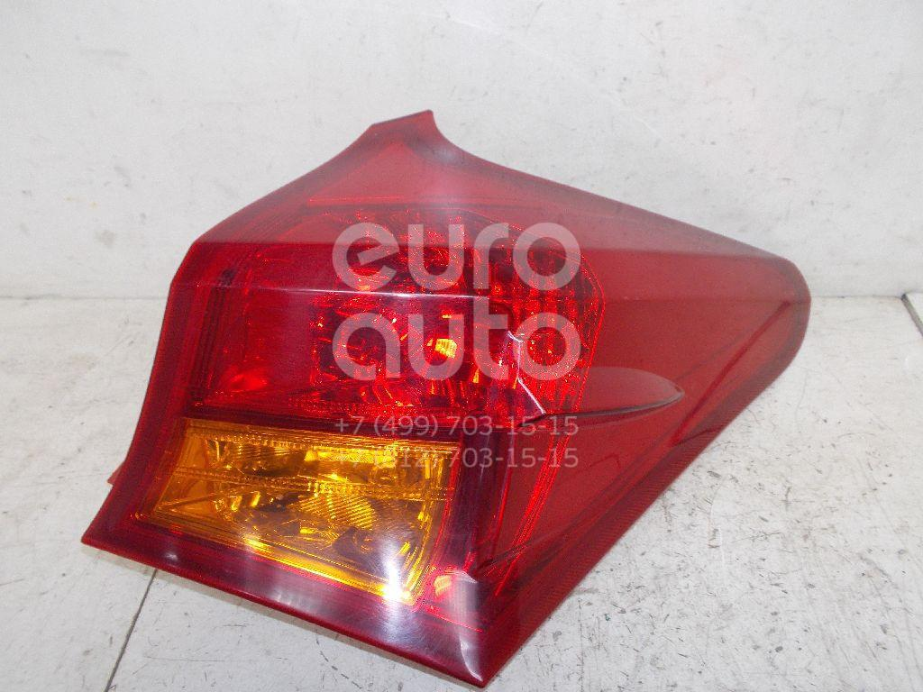 Фонарь задний наружный правый для Toyota Auris E18 2012> - Фото №1