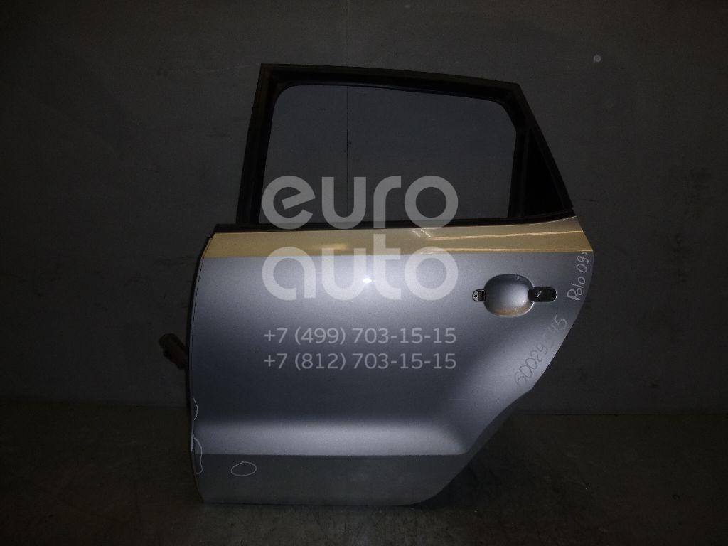 Дверь задняя левая для VW Polo (HB) 2009> - Фото №1