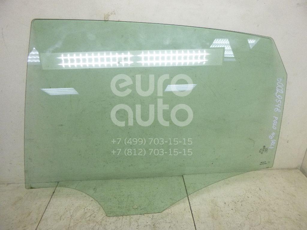 Стекло двери задней левой для VW Polo (HB) 2009> - Фото №1
