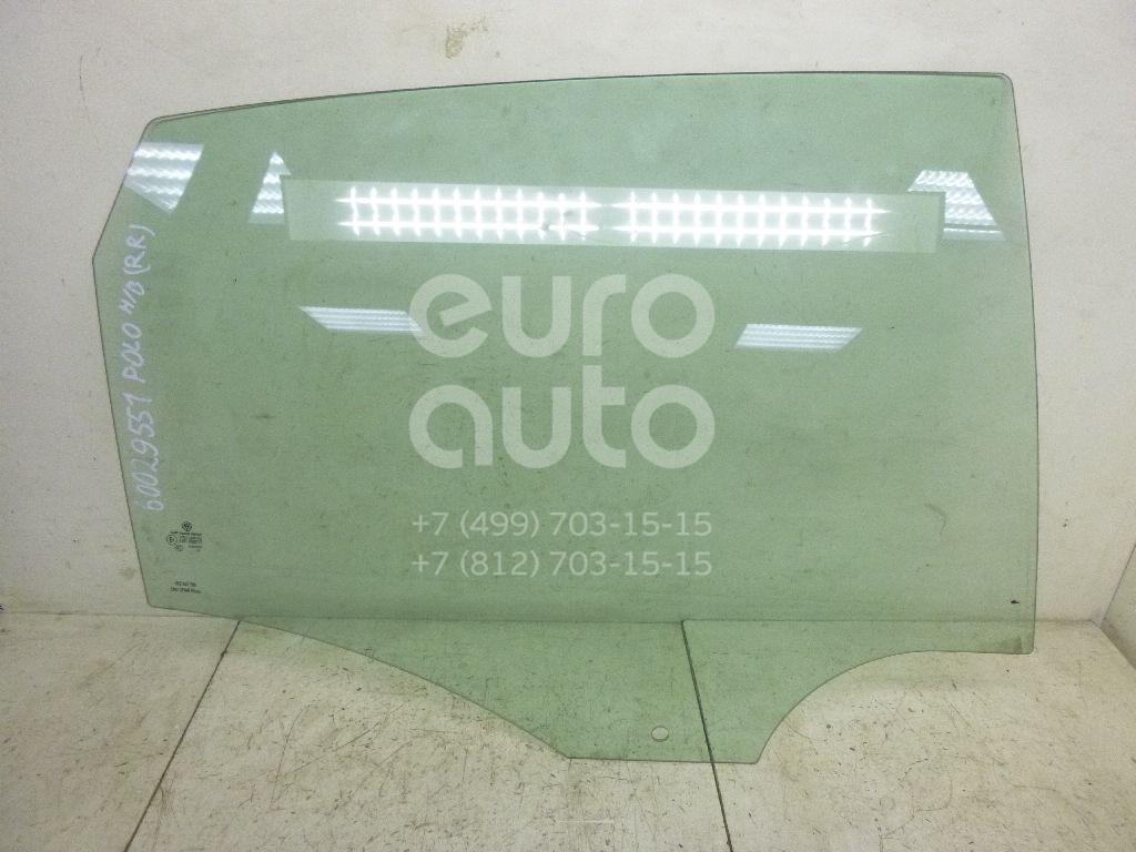 Стекло двери задней правой для VW Polo (HB) 2009> - Фото №1