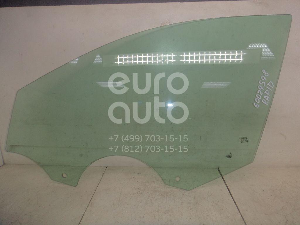 Стекло двери передней левой для Skoda,Seat Rapid 2013>;Toledo 2013> - Фото №1