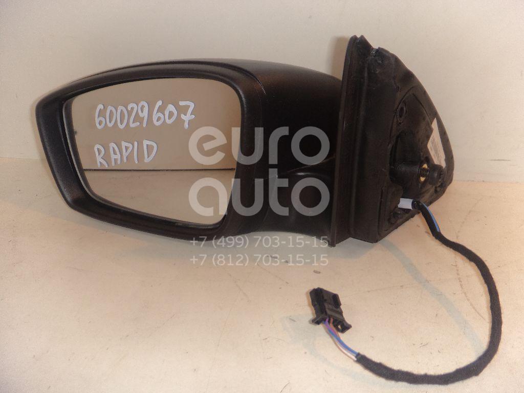 Зеркало левое электрическое для Seat Rapid 2013>;Toledo 2013> - Фото №1