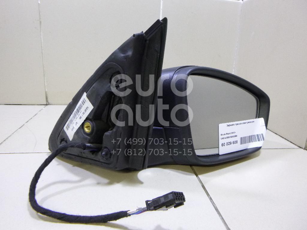 Зеркало правое электрическое для Skoda,Seat Rapid 2013>;Toledo 2013> - Фото №1