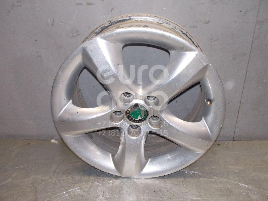 Диск колесный легкосплавный для Skoda Fabia 2007-2015 - Фото №1