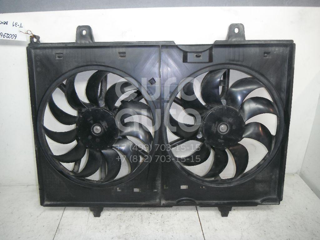 Вентилятор радиатора для Nissan X-Trail (T31) 2007-2014 - Фото №1