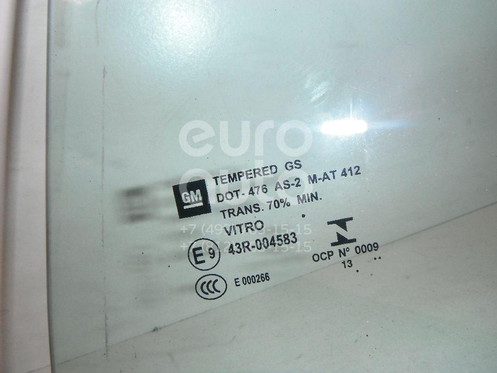 Стекло двери передней левой (форточка) для Opel Mokka 2012> - Фото №1