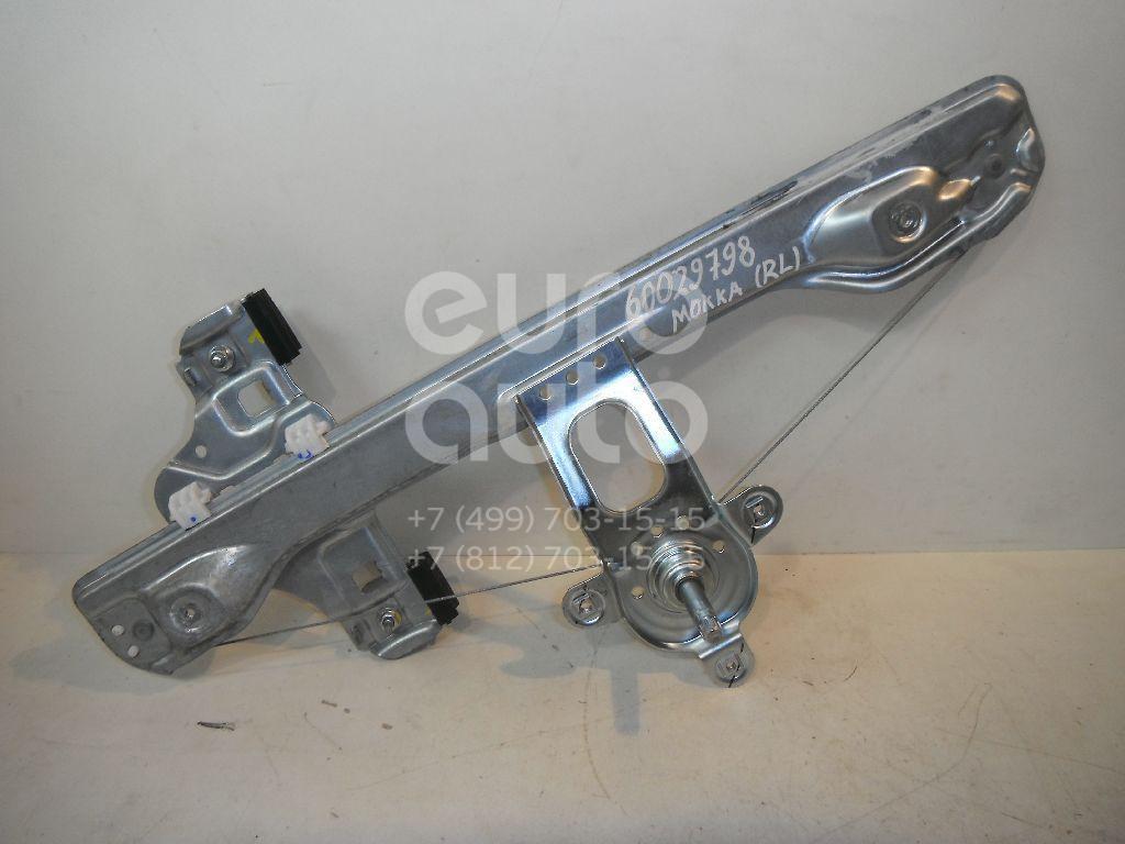 Стеклоподъемник механ. задний левый для Opel Mokka 2012> - Фото №1