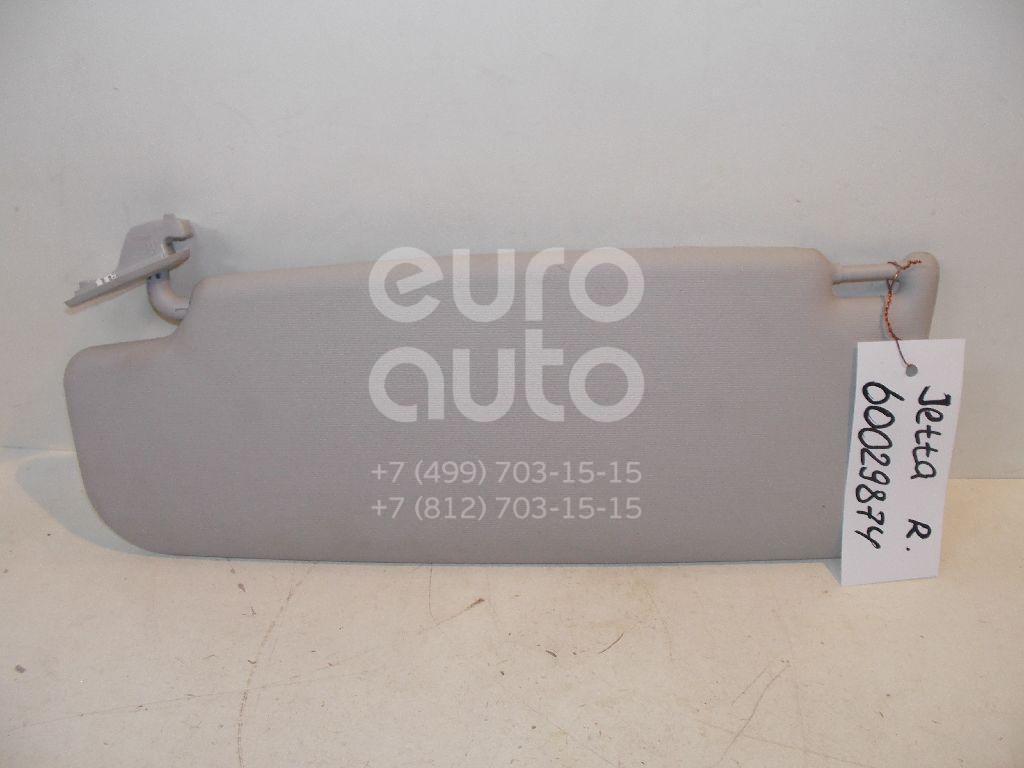 Козырек солнцезащитный (внутри) для VW Jetta 2006-2011;Passat [B6] 2005-2010;Golf V 2003-2009;Golf VI 2009-2012 - Фото №1