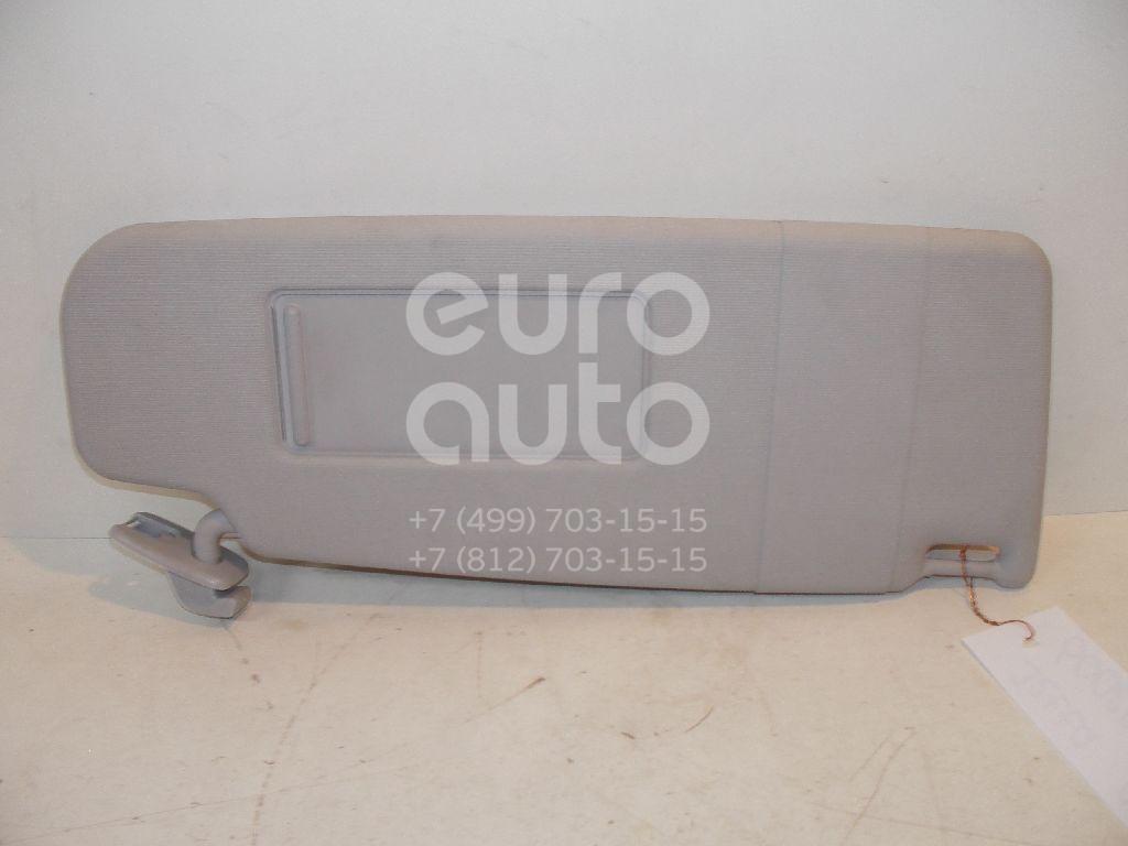 Козырек солнцезащитный (внутри) для VW Jetta 2006-2011;Passat [B6] 2005-2010;Golf V 2003-2009;Golf VI 2009-2013 - Фото №1