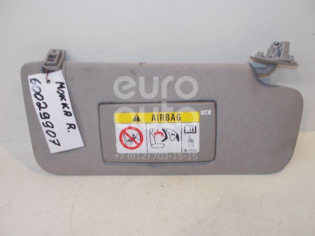 Козырек солнцезащитный (внутри) для Opel Mokka 2012> - Фото №1