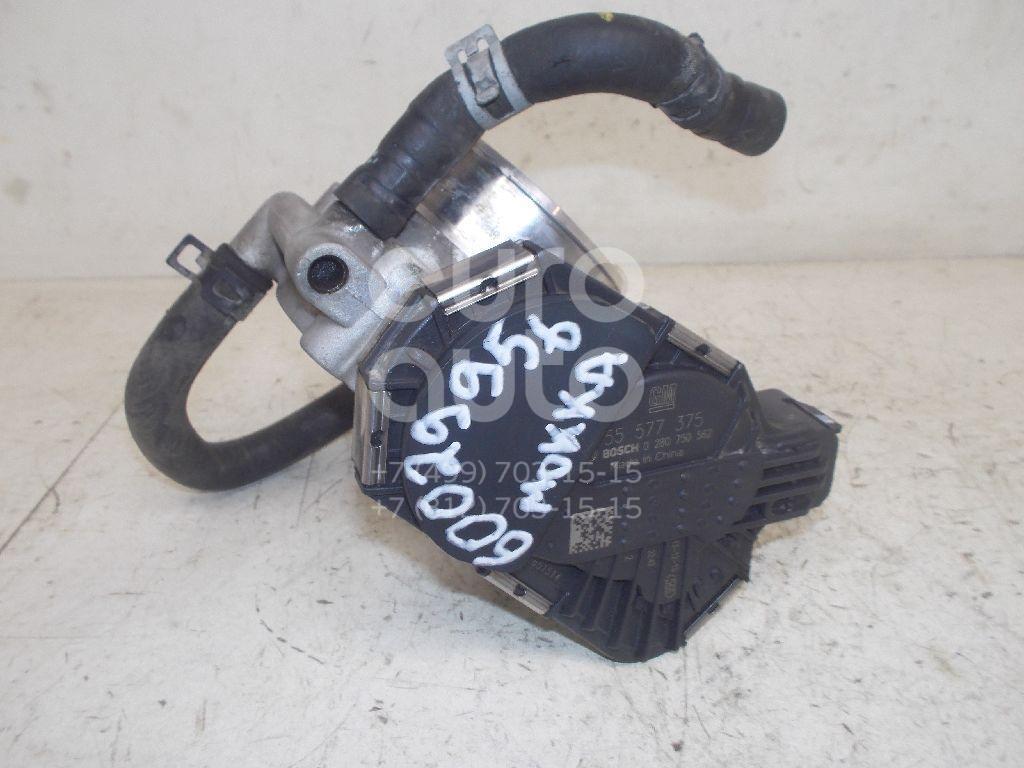 Заслонка дроссельная электрическая для Opel Mokka 2012>;Astra J 2010> - Фото №1