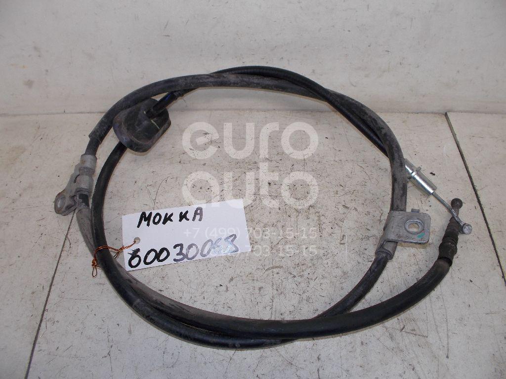 Трос стояночного тормоза для Opel Mokka 2012> - Фото №1