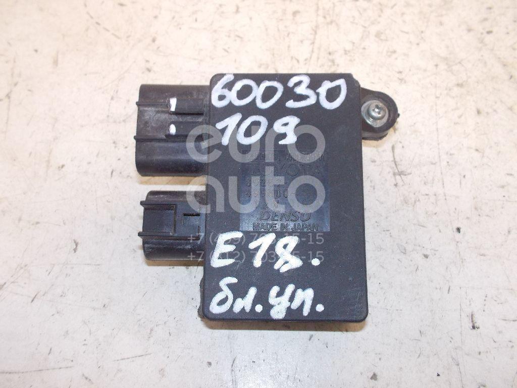Блок управления вентилятором для Toyota Auris E18 2012>;Auris (E15) 2006-2012;Corolla E15 2006-2013;Corolla E18 2013> - Фото №1