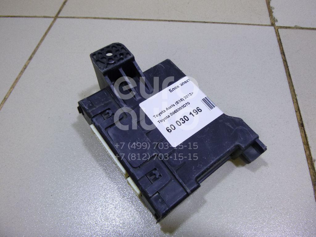 Блок электронный для Toyota Auris E18 2012> - Фото №1