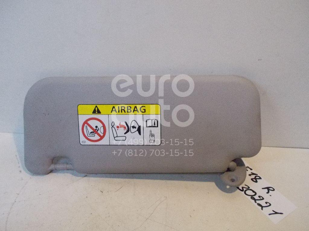 Козырек солнцезащитный (внутри) для Toyota Auris (E18) 2012>;Corolla E18 2013> - Фото №1