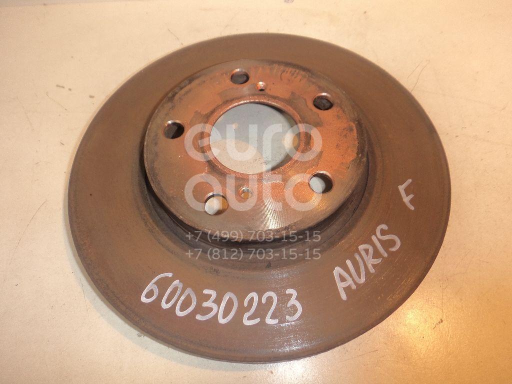 Диск тормозной передний вентилируемый для Toyota Auris E18 2012>;Corolla E18 2013> - Фото №1